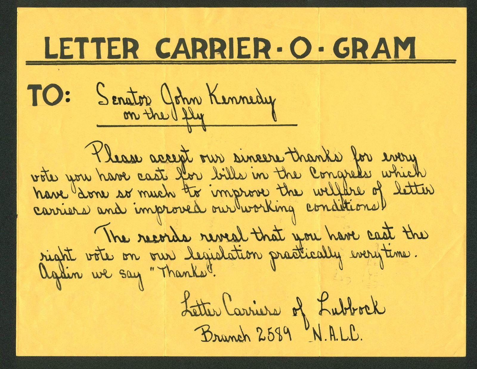 john-f-kennedy-authentic-handwriting-on-8-5x11-paper-as-senator-jsa-z02612-2