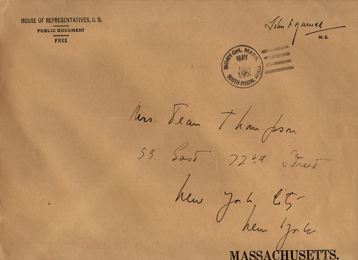 john-f-kennedy-hand-addressed-house-representatives-envelope-to-mrs-jean-thompson-ny
