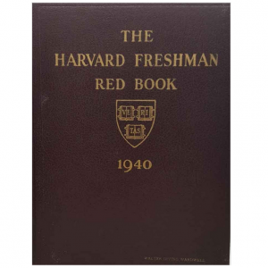 John F Kennedy's 1940 Freshman Yearbook