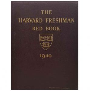John F Kennedy's 1940 Freshman Yearbook