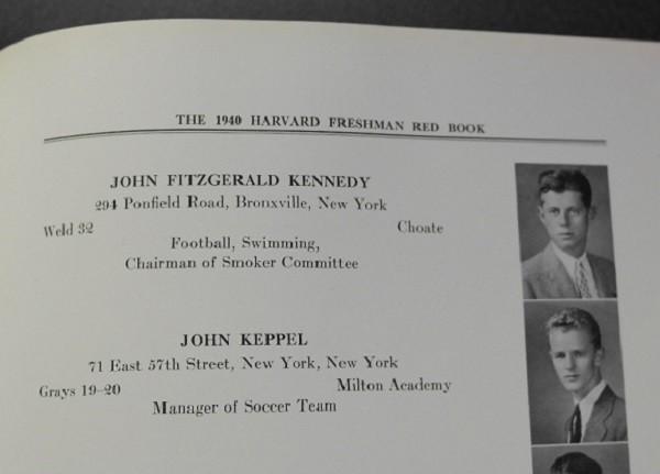 kennedy-harvard-freshman-red-book