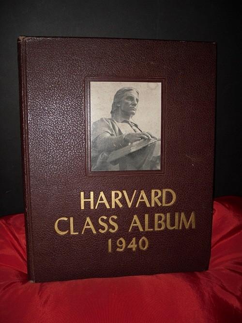 Rare John F Kennedy 1940 Harvard Class Album